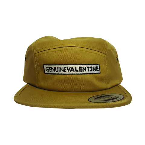 GENUINE VALENTINE khaki 5 panel hat