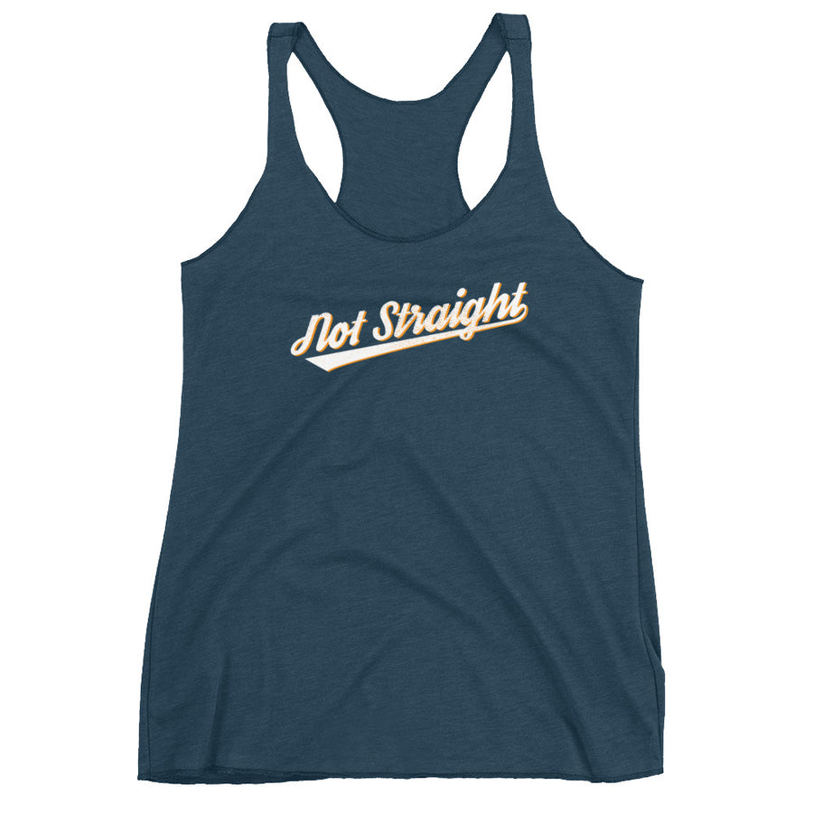 NOT STRAIGHT racerback