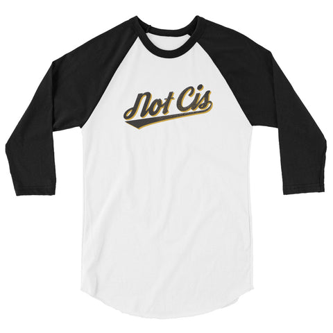 NOT CIS baseball tee
