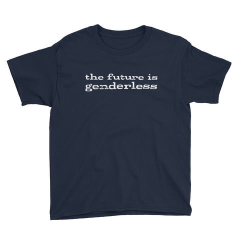 THE FUTURE IS GENDERLESS kids shirt
