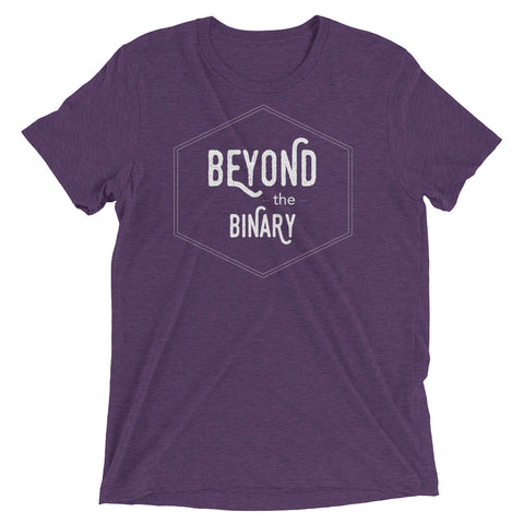 BEYOND THE BINARY badge shirt