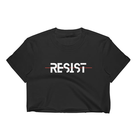 RESIST crop top