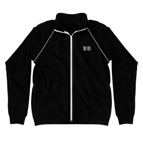 SHE/HER (NOT ASKING TOO MUCH) track jacket