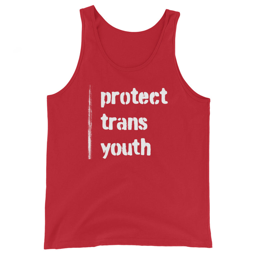 PROTECT TRANS YOUTH Tank Top