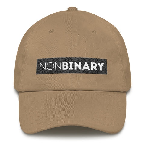 NONBINARY unstructured hat