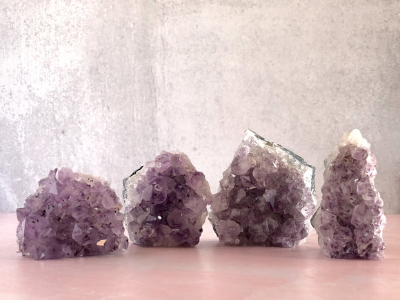 Amethyst Clusters - Small