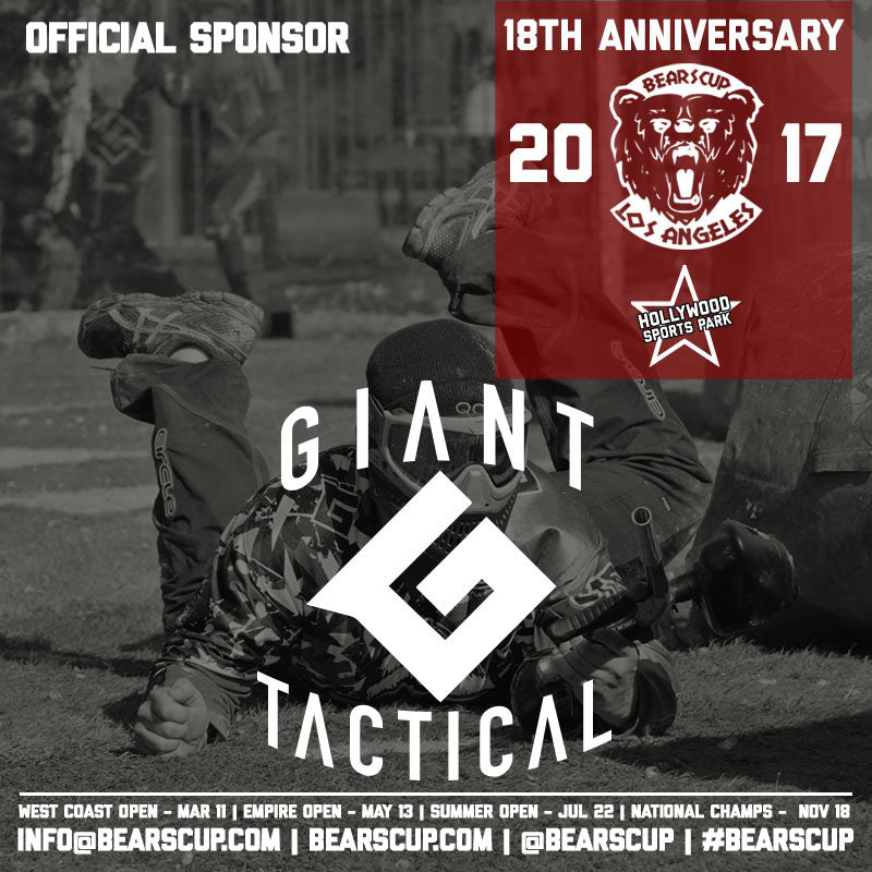 Giant Tactical Supports Bears Cup for its 18th Year