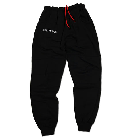"FLEECE PANTS ""BLACK OPS"" - BLACK"
