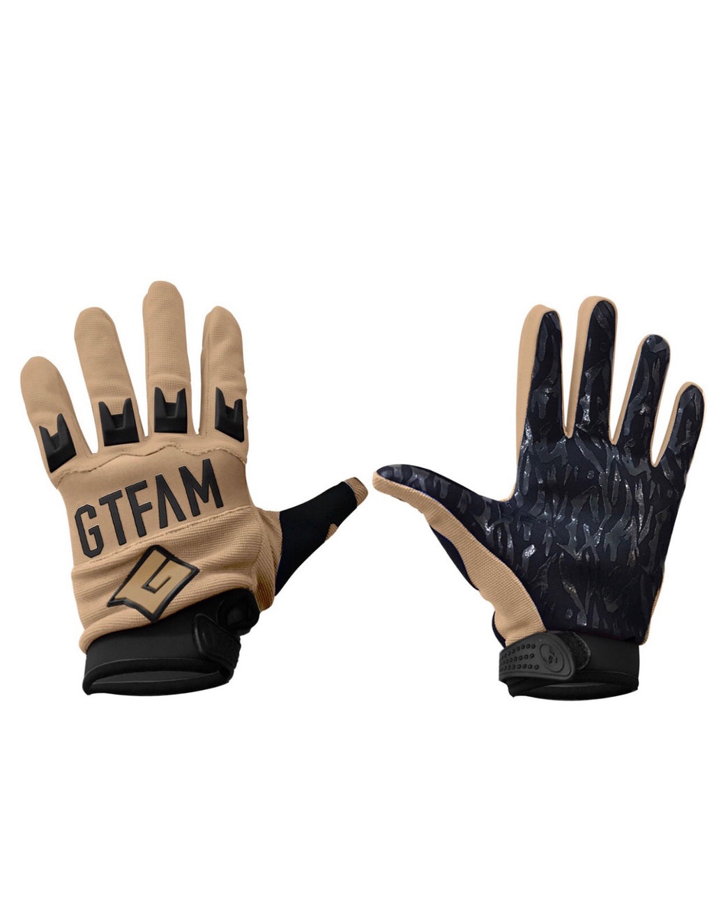 GIANT TACTICAL 2018 GTFAM GLOVES - DESSERT TAN