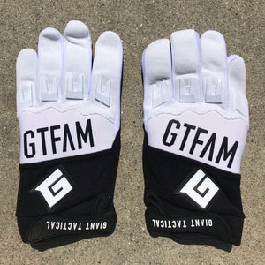 2019 GTFAM GLOVES - BLACK & WHITE
