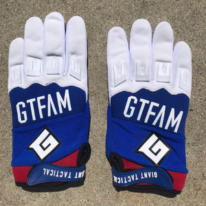 2019 GTFAM GLOVES - RED, WHITE, BLUE
