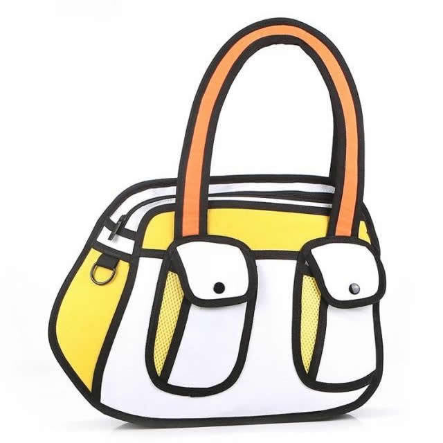 Cartoon Handbag