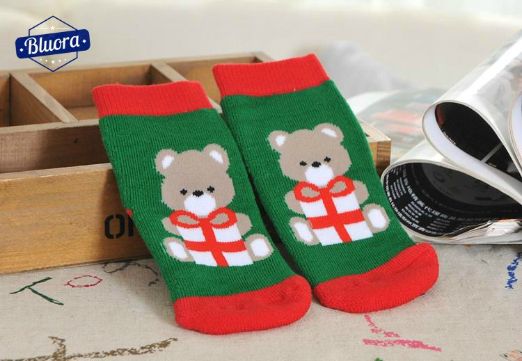 Christmas Themed Baby Socks
