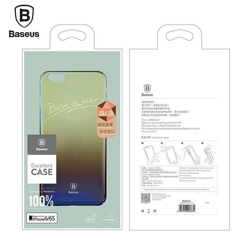 Baseus Aurora Gradient iPhone 7 & 7+ Case - Bluora