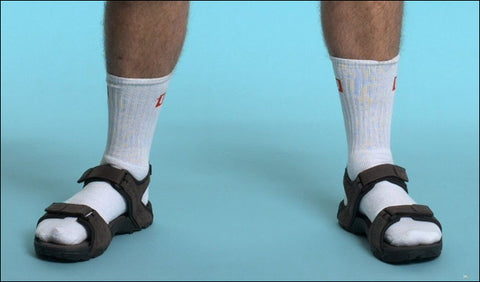Socks and Sandals - Faux pas #1
