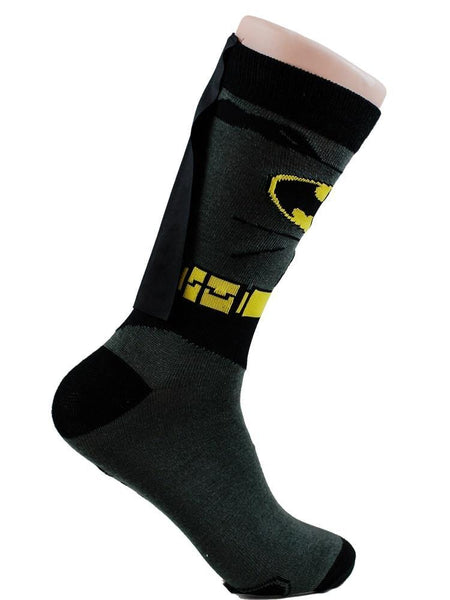 Batman  CAPE COSTUME - The Sock Bar Novelty Socks