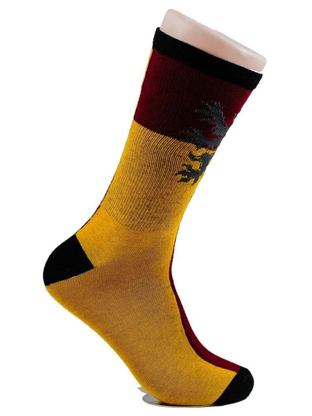 HARRY POTTER - Griffindor Red Yellow - The Sock Bar Novelty Socks