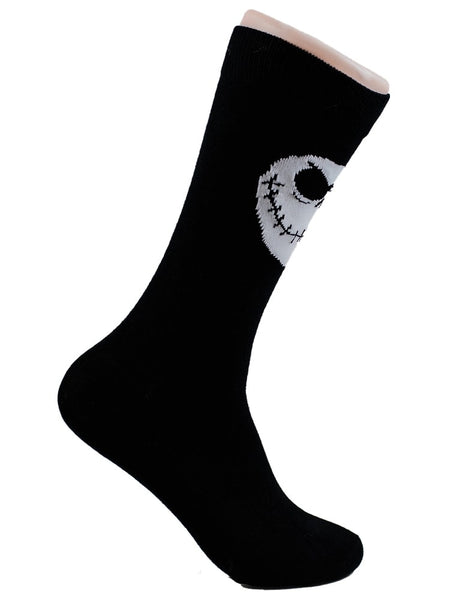 NIGHTMARE BEFORE CHRISTMAS - JACK- Skeleton - The Sock Bar Novelty Socks