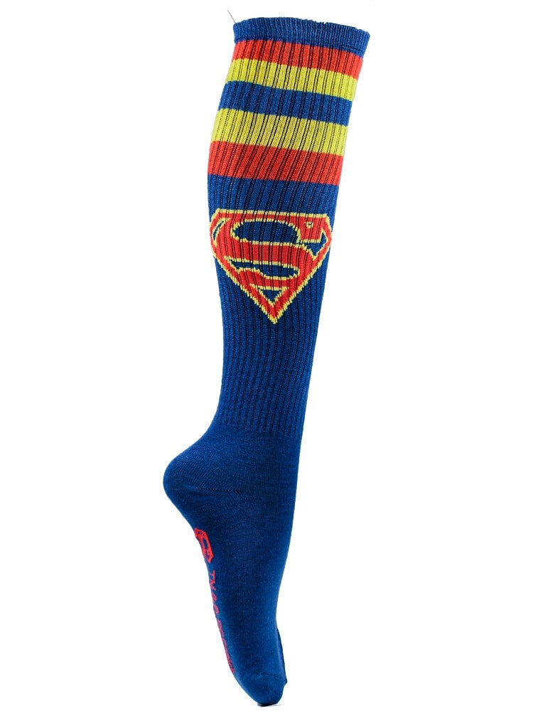 SUPERMAN - Blue Athletic Stripe