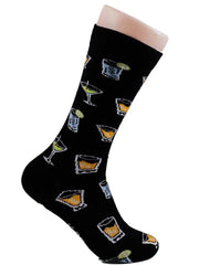 Cocktails - The Sock Bar Novelty Socks