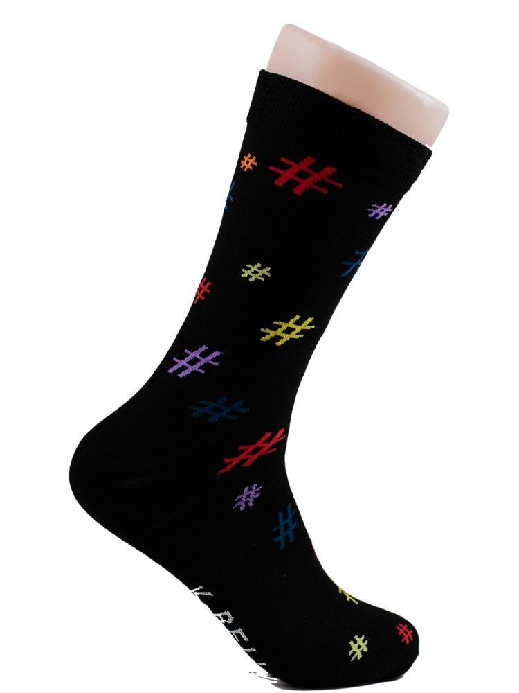 Hashtags - The Sock Bar Novelty Socks