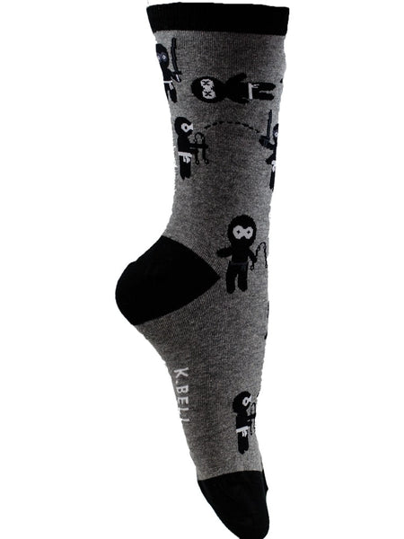 Ninja's - The Sock Bar Novelty Socks