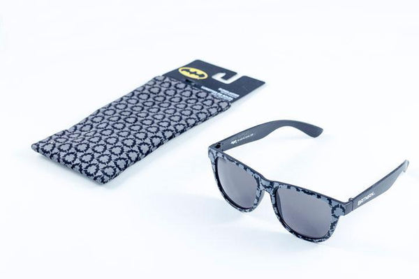 BATMAN LOGO SUNGLASSES WITH CASE