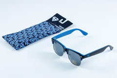 Superman Logo Half Frame Sunglasses With Case