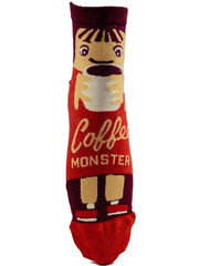 Coffee Monster - The Sock Bar Novelty Socks