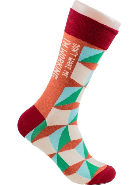 Don't Wake Me - The Sock Bar Novelty Socks