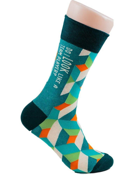 Team Player - The Sock Bar Novelty Socks