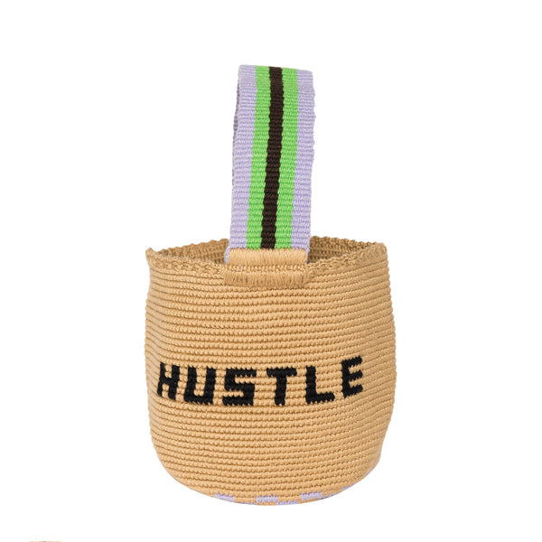 MINI HUSTLE HANDMADE BUCKET FRONT STRAP