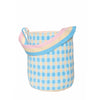 Pink Gingham Bucket bag