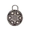 The PAOLA Round Handmade Iraka Palm Basket