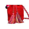 Rainbow Woven Mochila Bucket Bag - 3