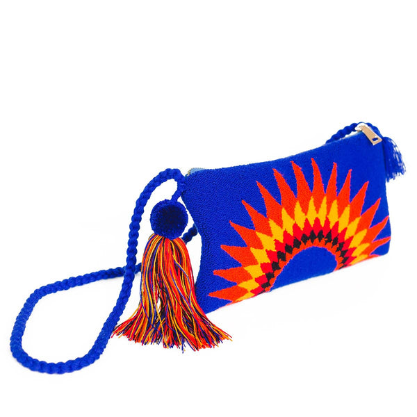 Sunrise Handmade Clutch - Main