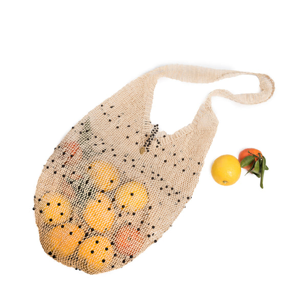Beaded Market Bag