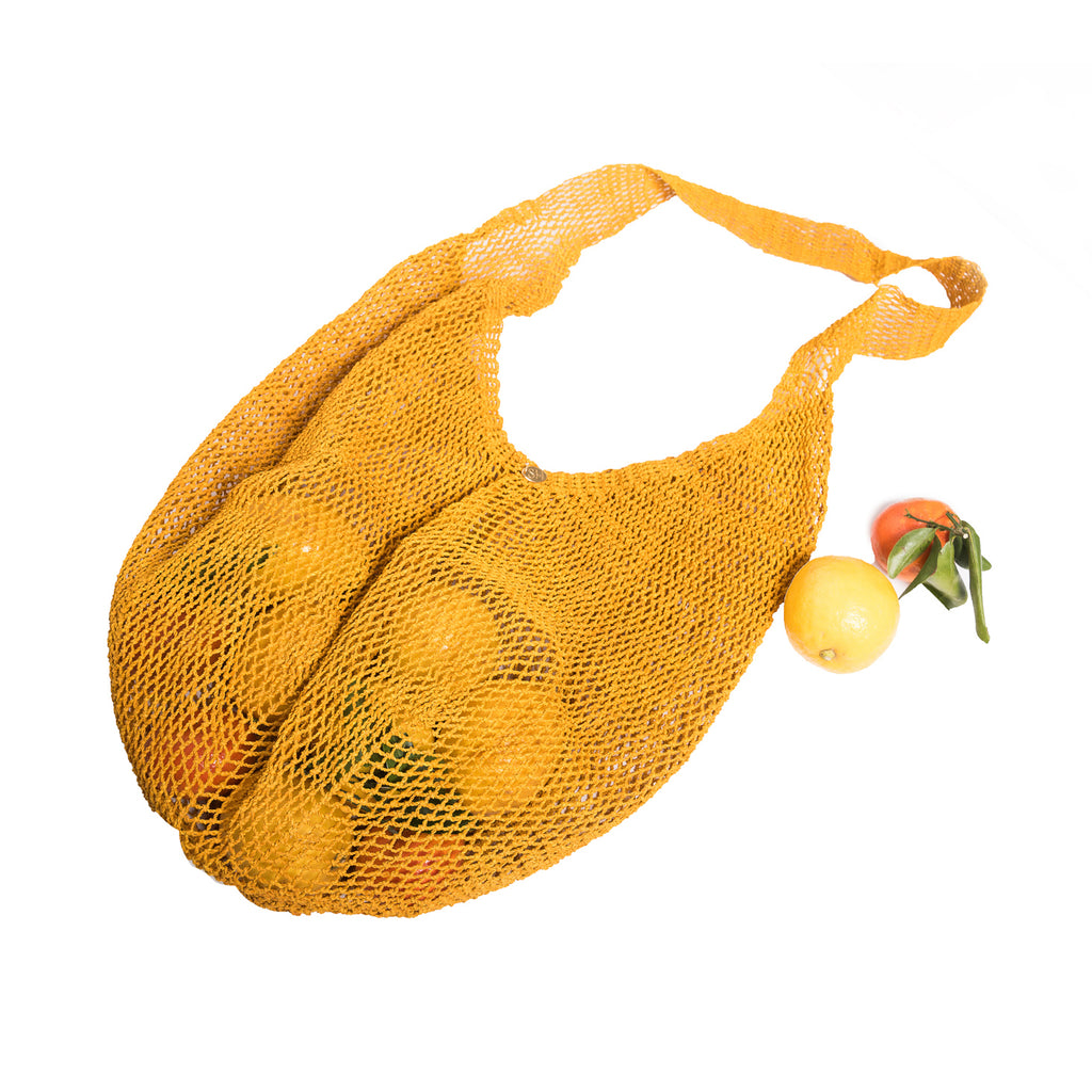 Yellow Market Bag
