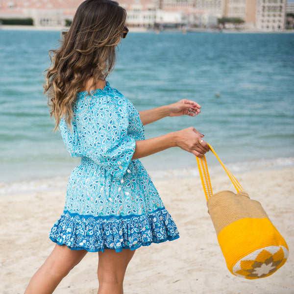 Cabo Sunrise Bucket Bag