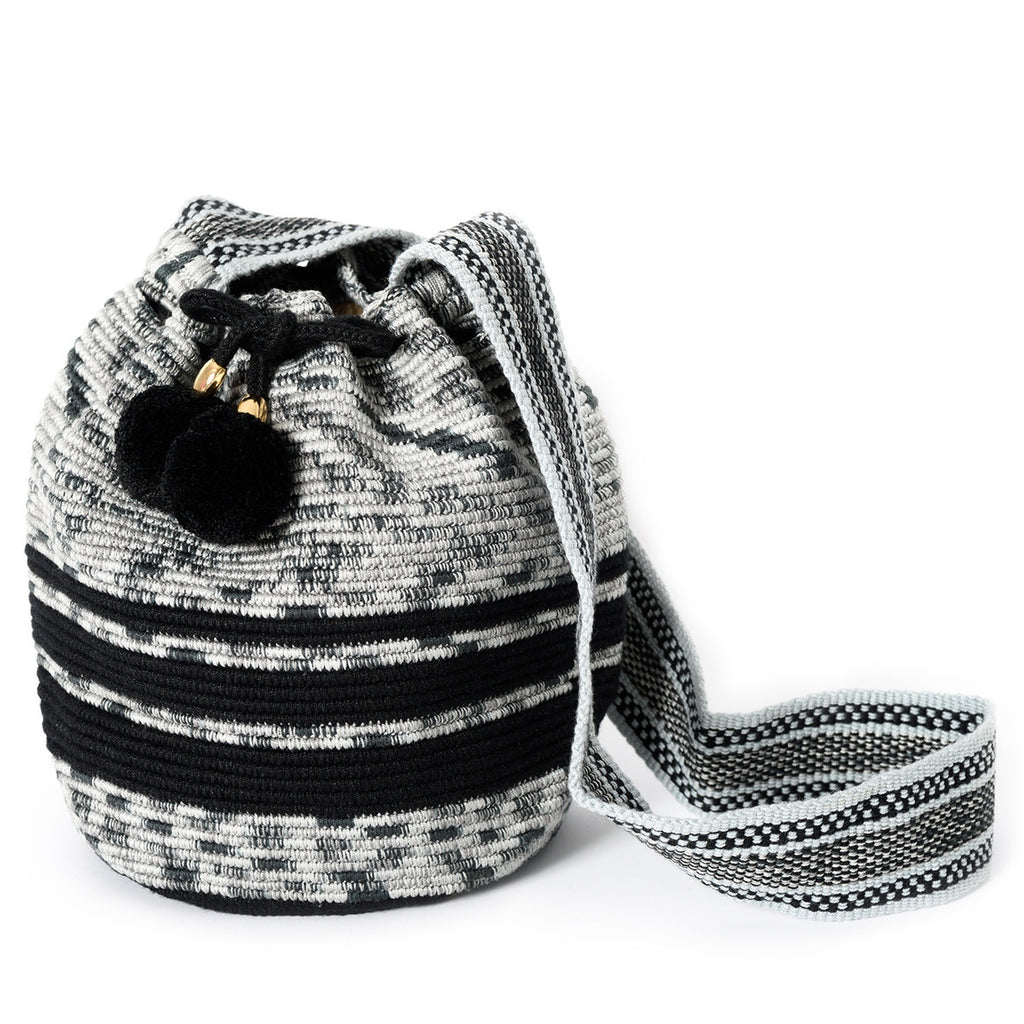 Seattle Woven Mochila Bucket Bag - Main