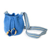Mini Blue Jean Woven Mochila Bucket Bag - 2
