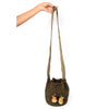 Mini Cappuccino Woven Mochila Bucket Bag - 3