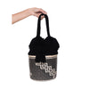 The Lupe Cotton and Iraka Basket Bag