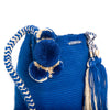 Royal Woven Mochila Bucket Bag - 3
