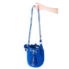 Royal Woven Mochila Bucket Bag