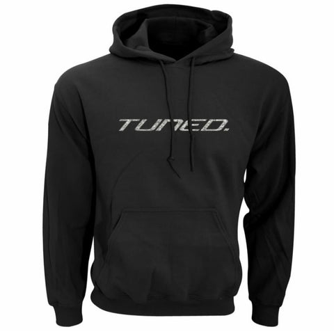 Tuned. 'Sparkle Silver' Hoodie