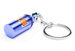 Nitrous Bottle Keyring (Blue)
