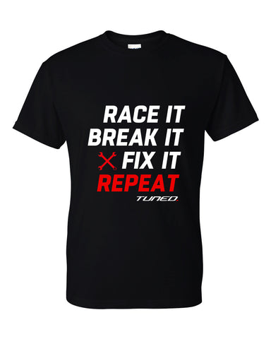 Tuned. 'Repeat' T-Shirt