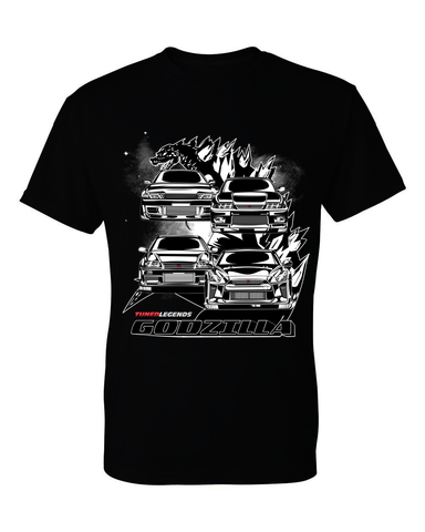 Tuned. Legends 'Godzilla' T-Shirt