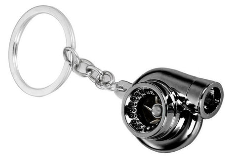 Tuned. Turbo Keyring (Gunmetal)
